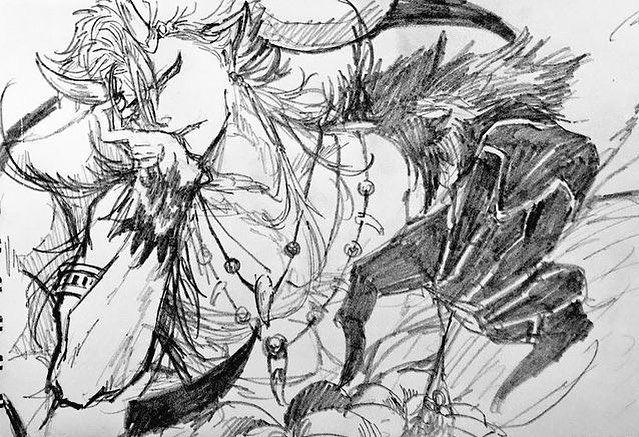 Гриммджоу арты красивые - подборка (11)