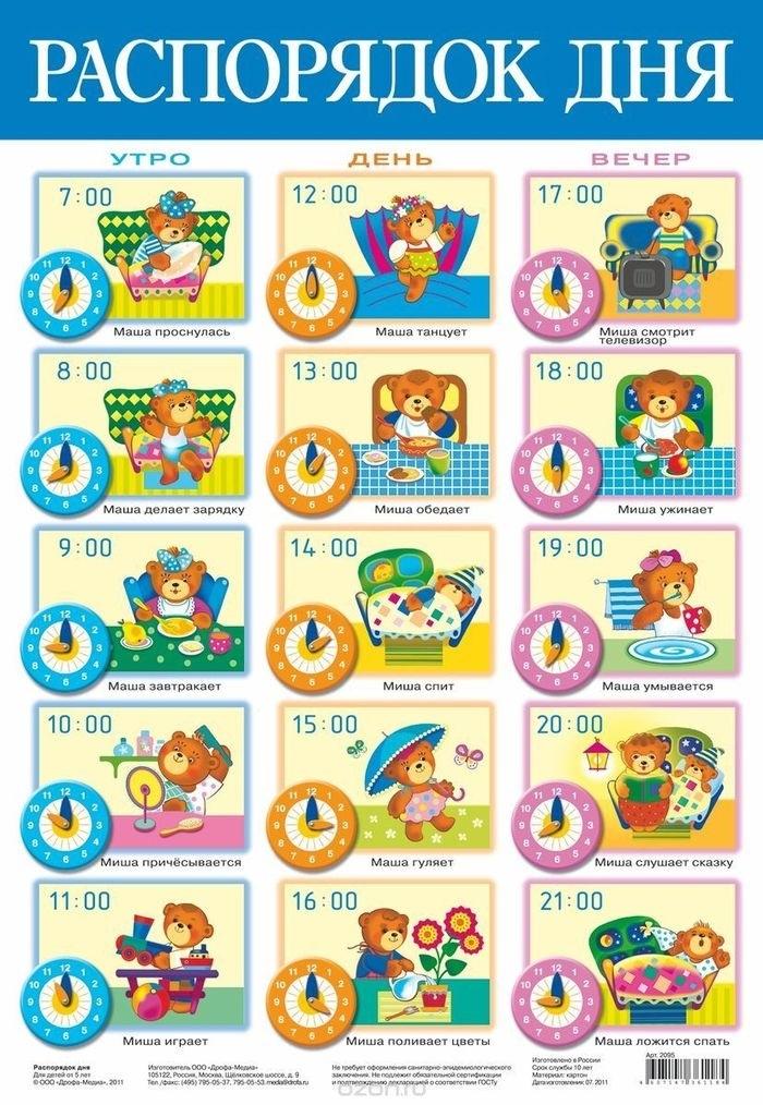 Детский распорядок дня в картинках008