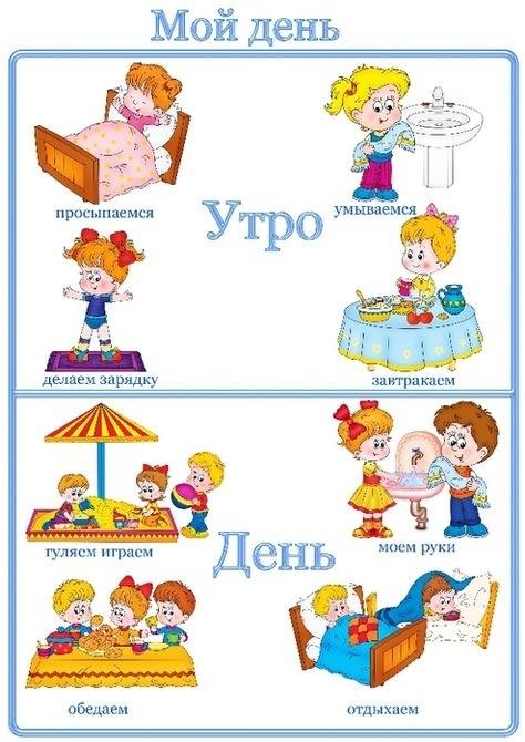 Детский распорядок дня в картинках013