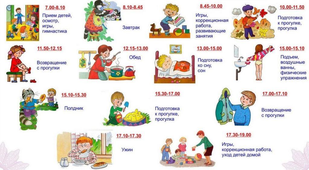 Детский распорядок дня в картинках017
