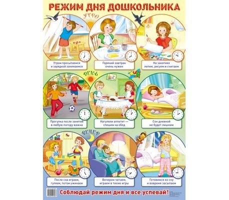 Детский распорядок дня в картинках021