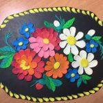 Как нарисовать цветы на подносе — идеи рисунков