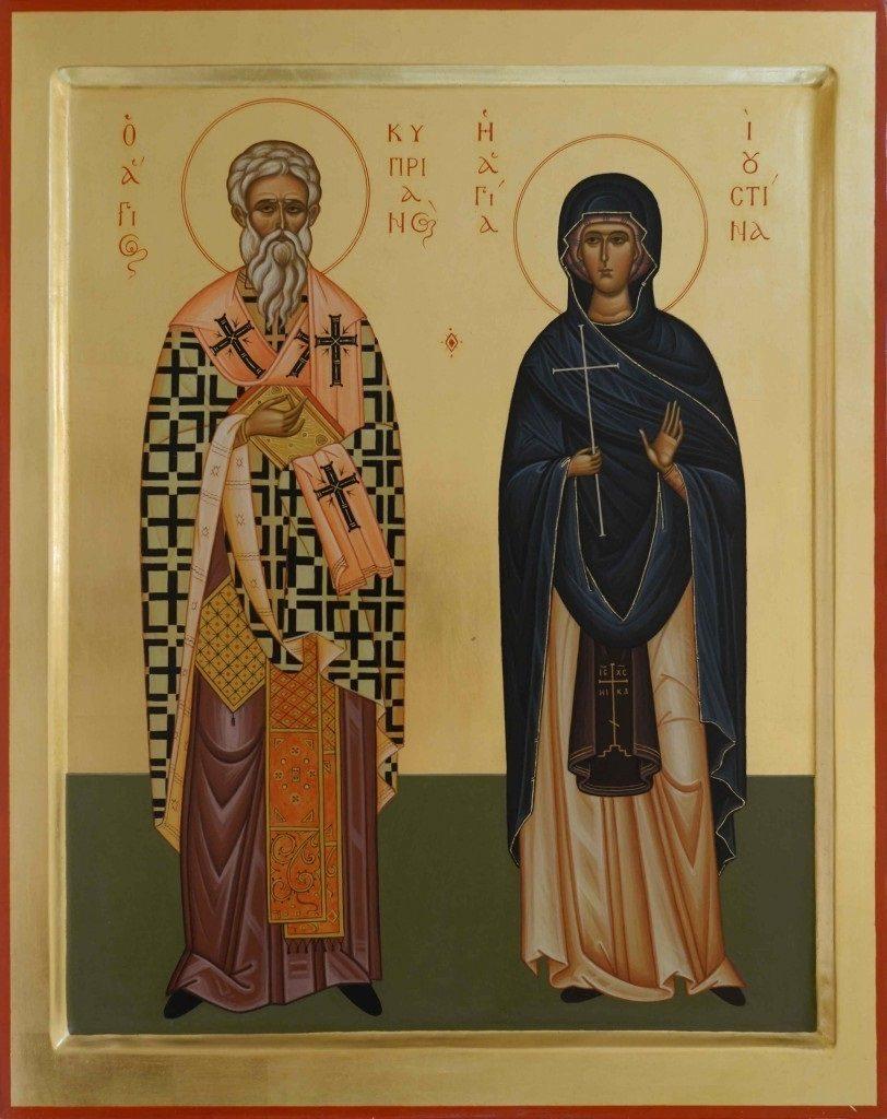 Картинки День памяти священномученика Киприана и святой мученицы Иустины019