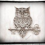 Картинки и рисунки карандашом сова
