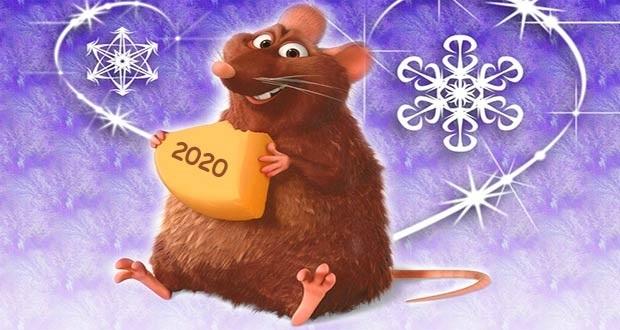 Картинки крыски на Новый год 2020006