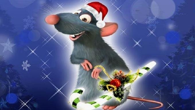 Картинки крыски на Новый год 2020019