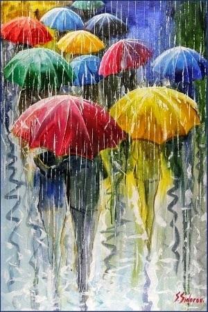 Картинки на День разноцветных зонтов014