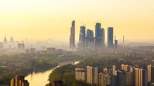 Картинки с добрым утром Москва (4)