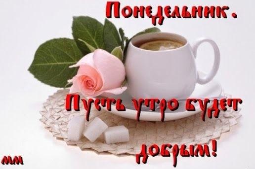 Картинки с добрым утром понедельник016