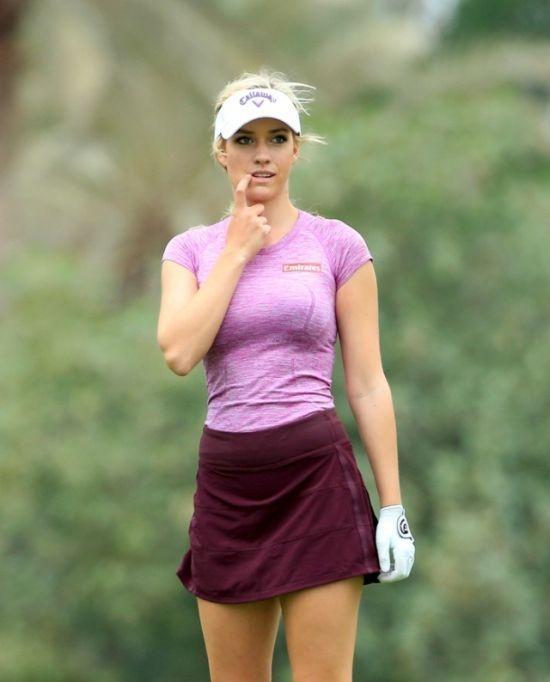 Красивая женская одежда для гольфа фото006