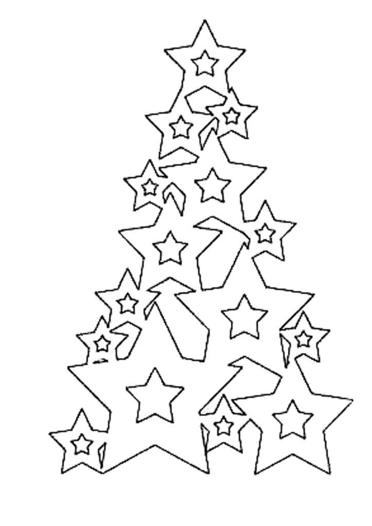 Красивые елки на новый год рисунки (17)