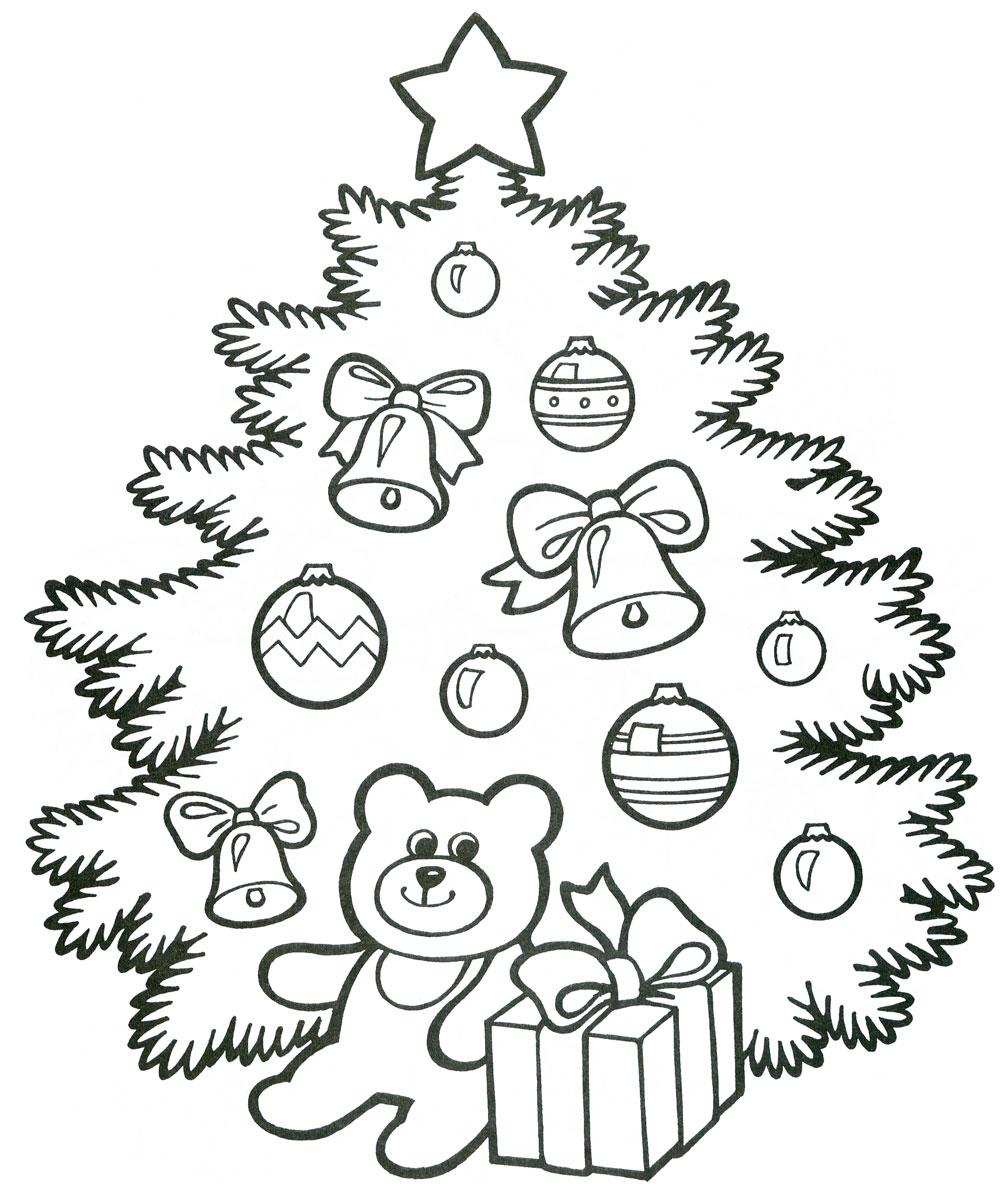 Красивые елки на новый год рисунки (2)