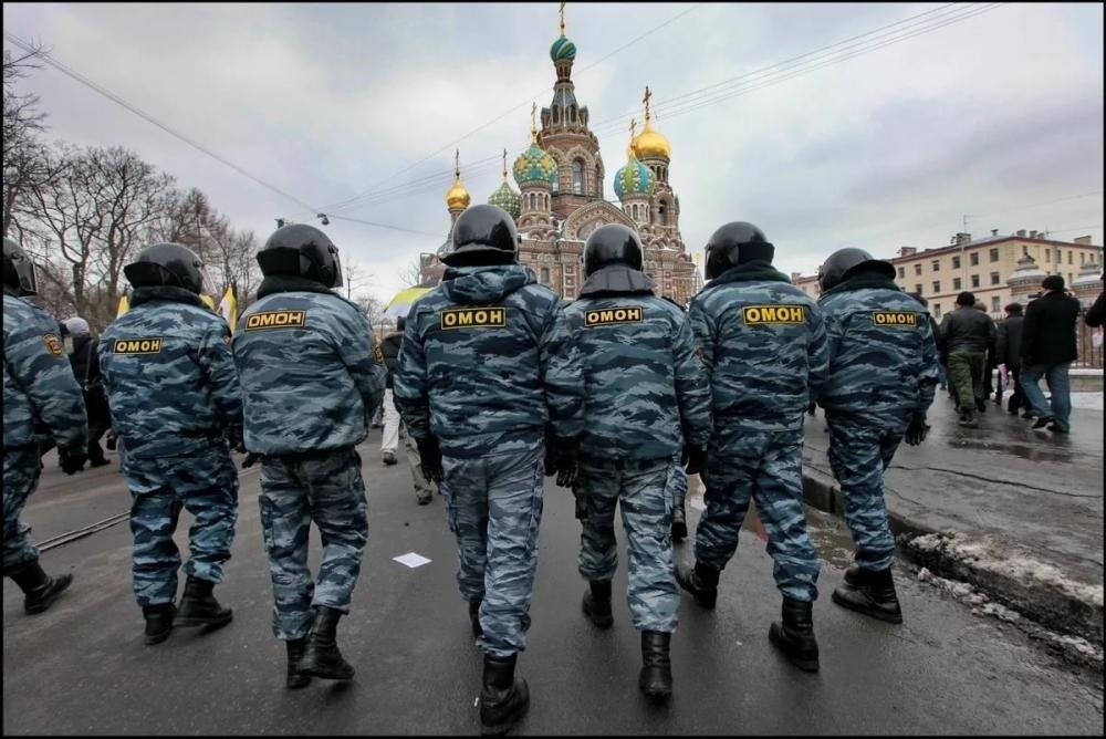 Фото день омона в россии