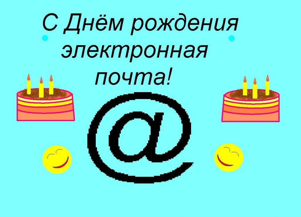 Открытки поздравления с днем рождения по электронной почте