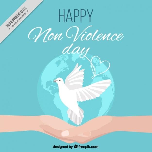 Красивые картинки на Международный день ненасилия008
