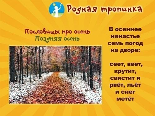 Красивые картинки осени октябрь для детей009