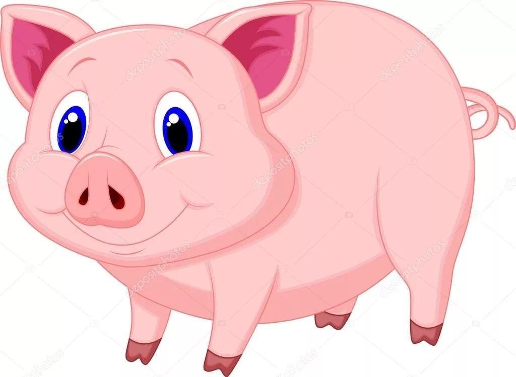 Красивые клипарт свинка001
