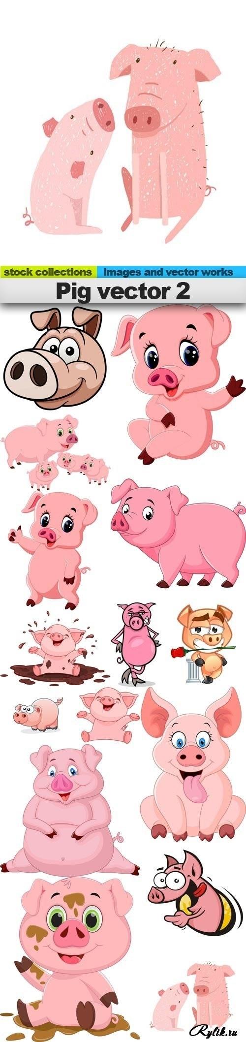 Красивые клипарт свинка008