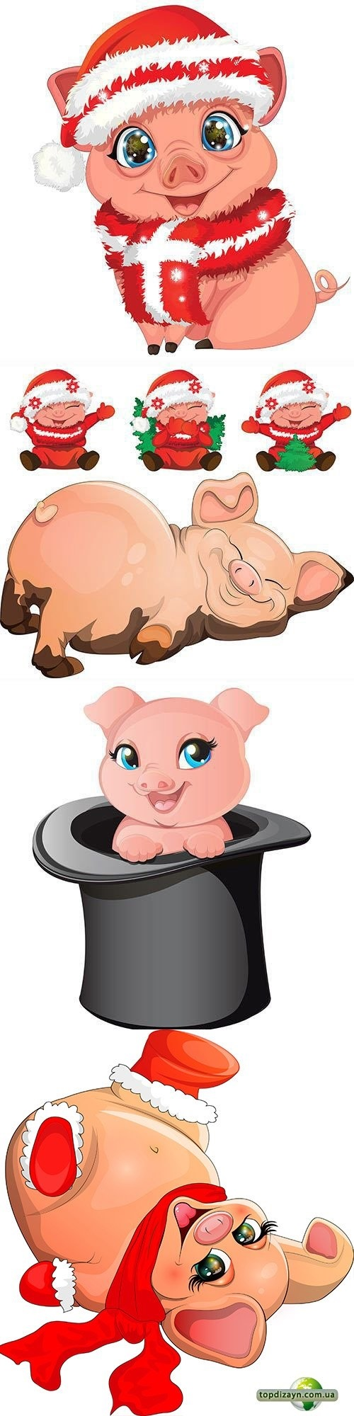 Красивые клипарт свинка015