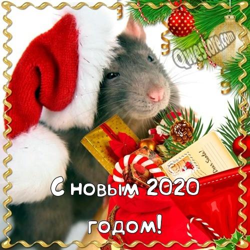 Красивые открытки с Новым годом 2020 (2)