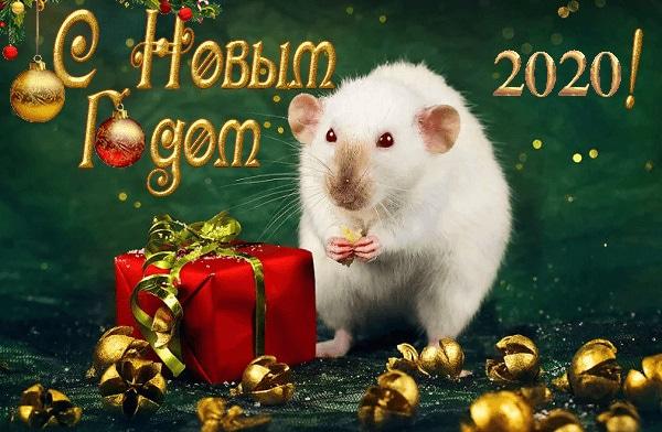 Красивые открытки с Новым годом 2020 (4)