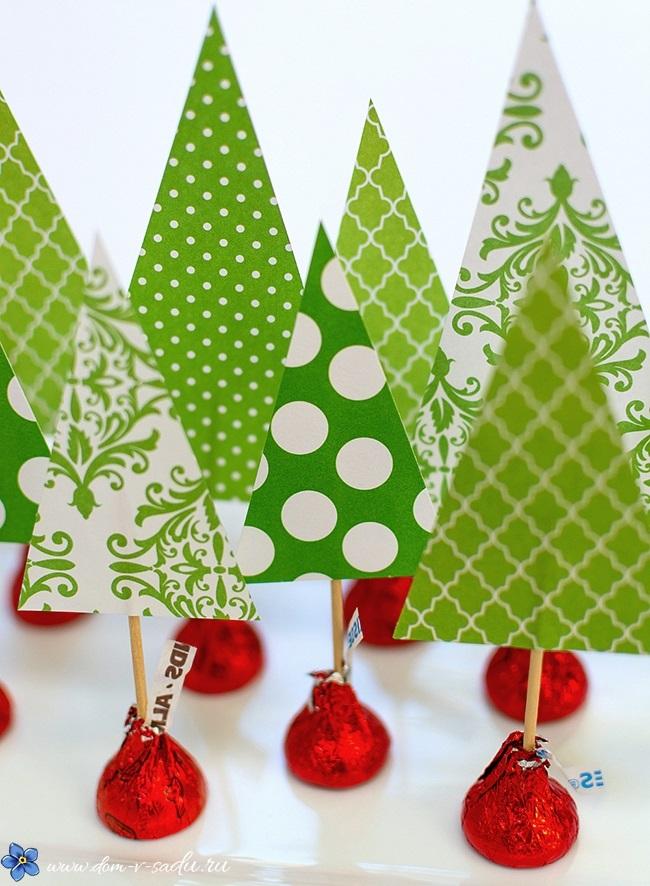 Поделка новогоднее украшение в детский сад