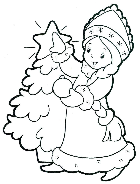 Красивые рисунки на новый год на окно (1)