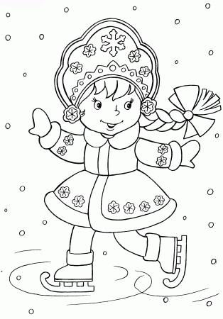 Красивые рисунки на новый год на окно (9)