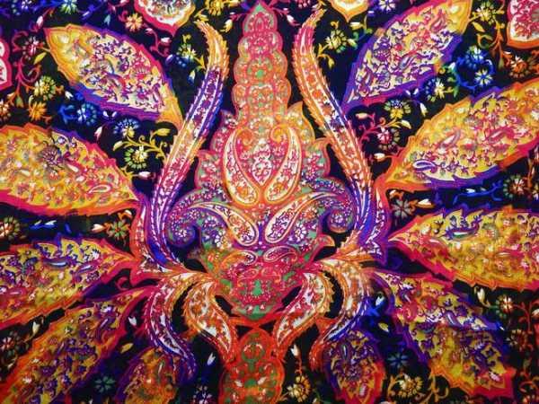 Красивые рисунок индийский орнамент (14)