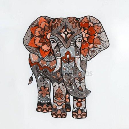 Красивые рисунок индийский орнамент (20)