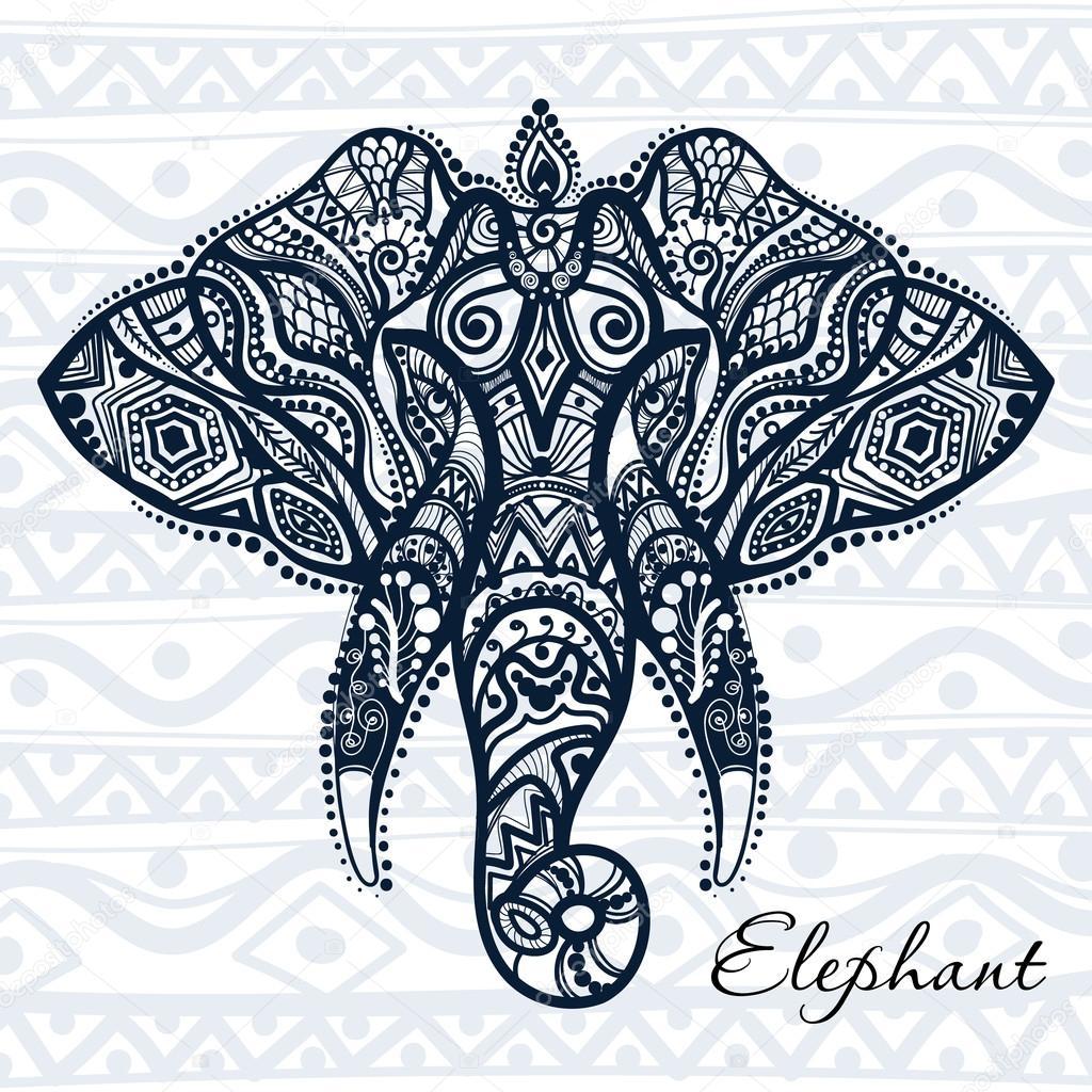 Красивые рисунок индийский орнамент (25)
