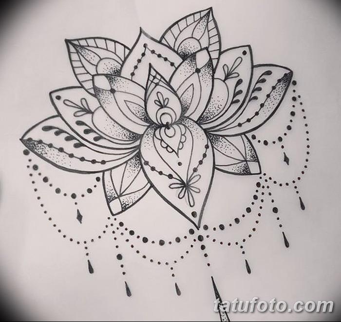 Красивые рисунок индийский орнамент (4)