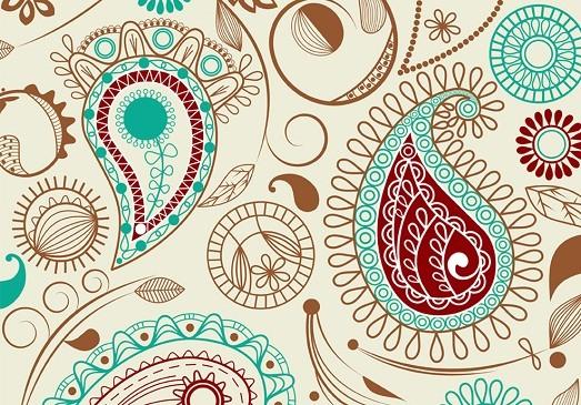 Красивые рисунок индийский орнамент (5)