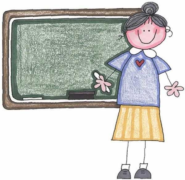 Красивые рисунок учительнице на день учителя017