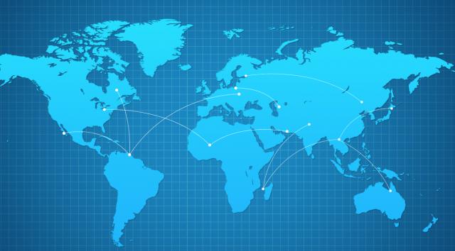 Красивый дизайн карта мира (1)