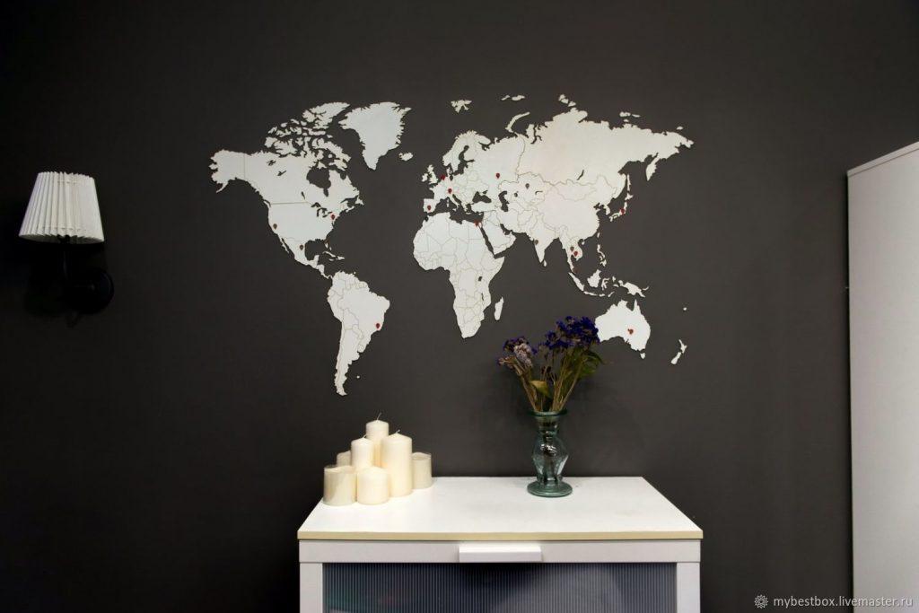 Красивый дизайн карта мира (10)