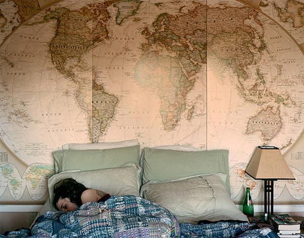 Красивый дизайн карта мира (11)