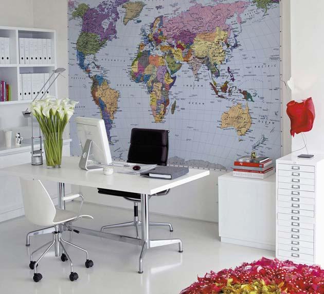 Красивый дизайн карта мира (13)