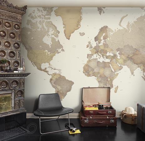 Красивый дизайн карта мира (14)