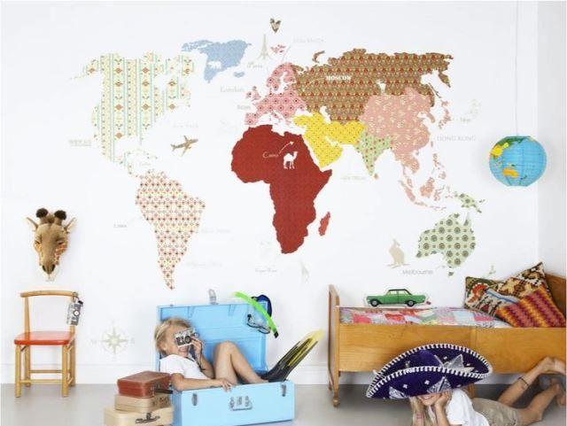 Красивый дизайн карта мира (15)