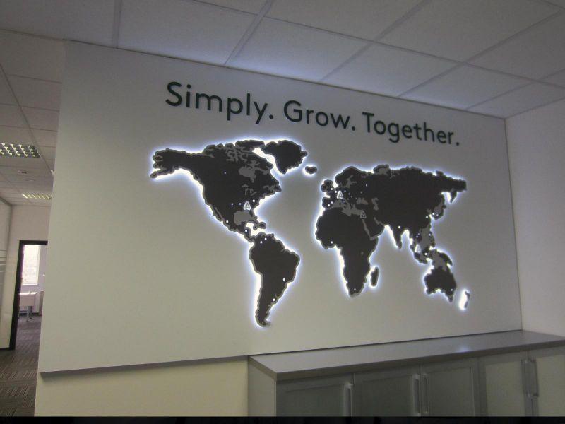 Красивый дизайн карта мира (16)