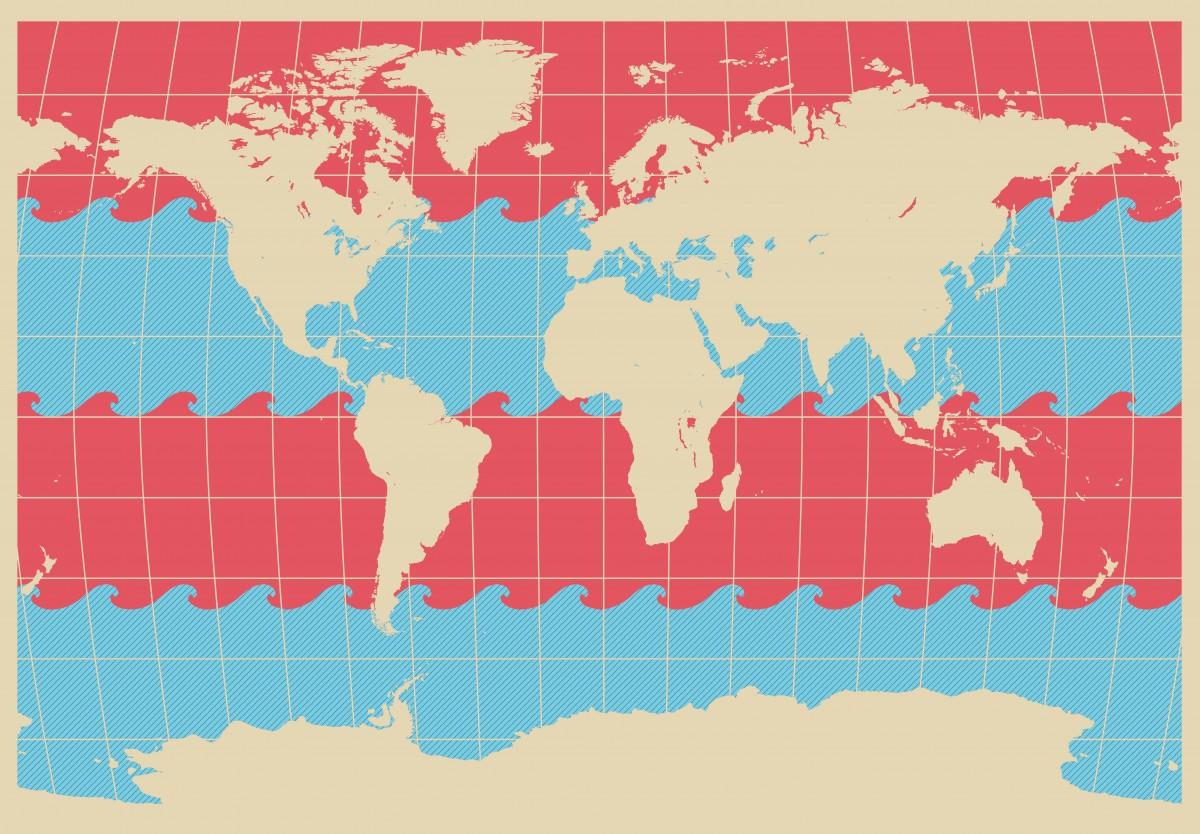 Красивый дизайн карта мира (4)