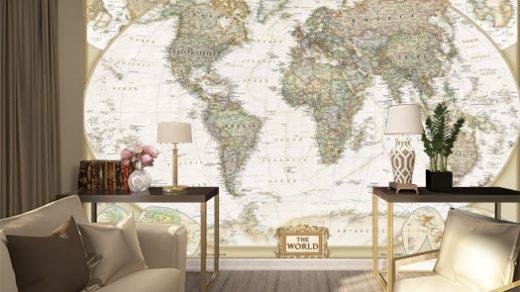 Красивый дизайн карта мира (6)