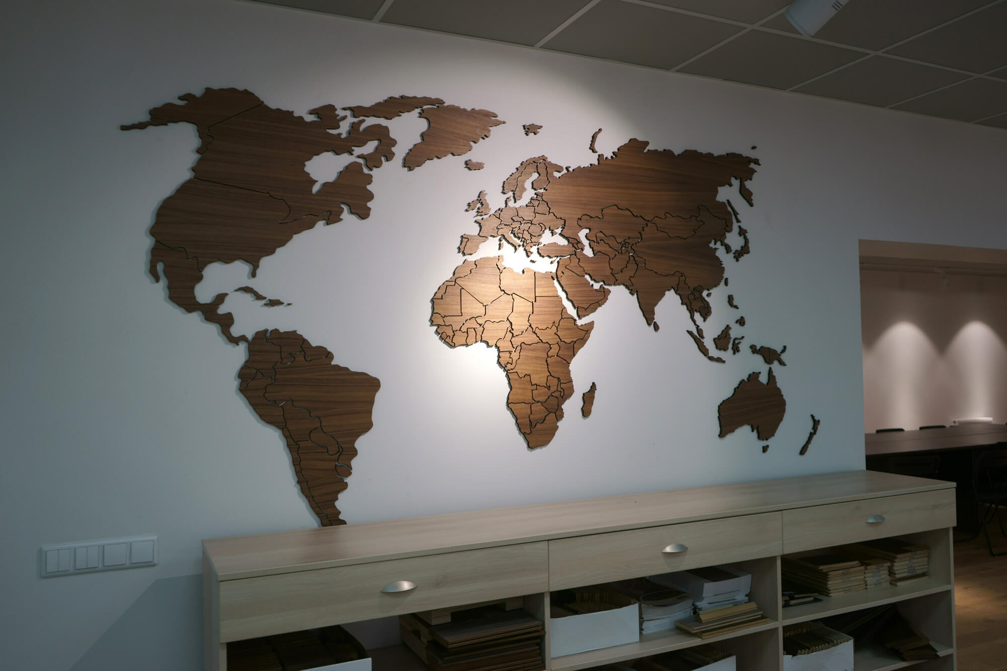 Красивый дизайн карта мира (7)