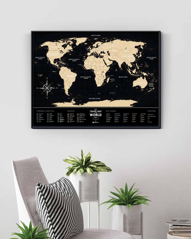 Красивый дизайн карта мира (8)