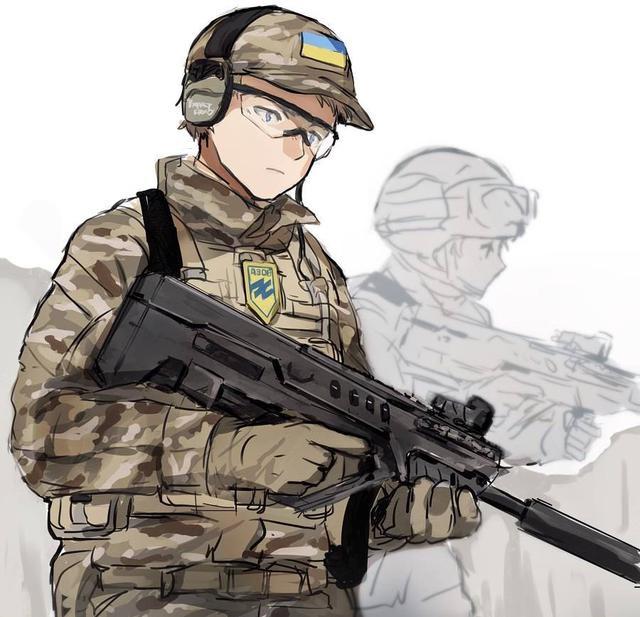 Крутые персонажи аниме в военной форме010