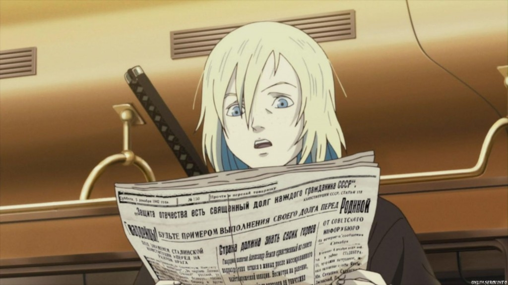Крутые персонажи аниме в военной форме013