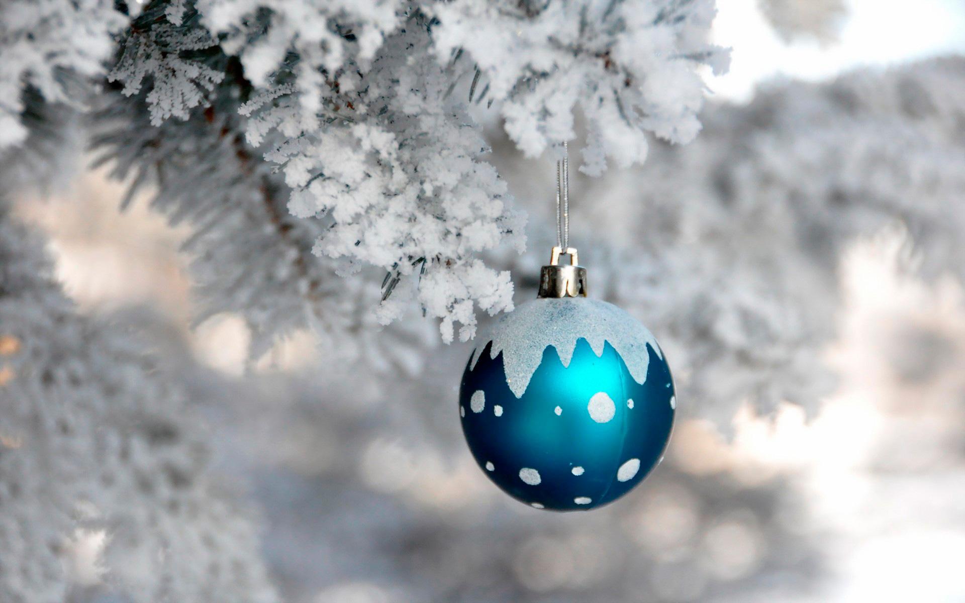 Лучшие обои для рабочего стола Новый год зима (17)