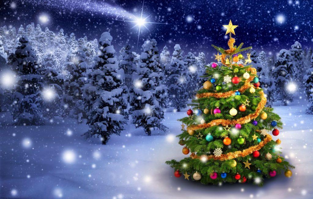 Лучшие обои для рабочего стола Новый год зима (18)