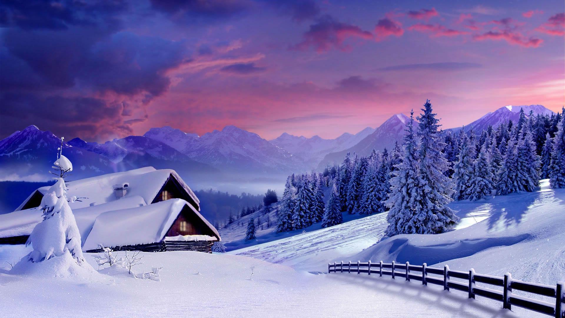 Лучшие обои для рабочего стола Новый год зима (19)